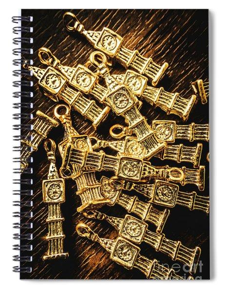 A Uk Keepsake Spiral Notebook