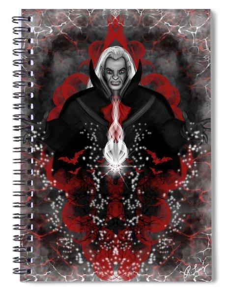 A Vampire Quest Fantasy Art Spiral Notebook