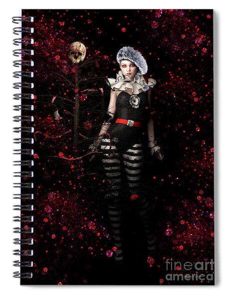 A Very Gothic Xmas Spiral Notebook
