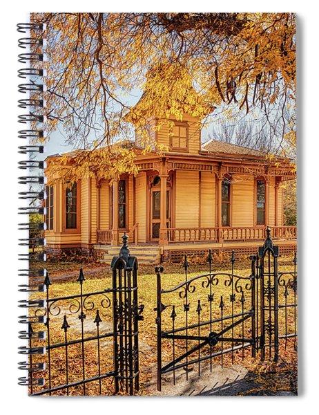 A Victorian Autumn Spiral Notebook