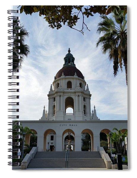 Serene City Hall Spiral Notebook
