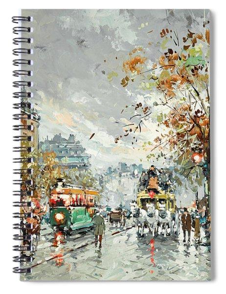 A View Of La Madeleine Spiral Notebook