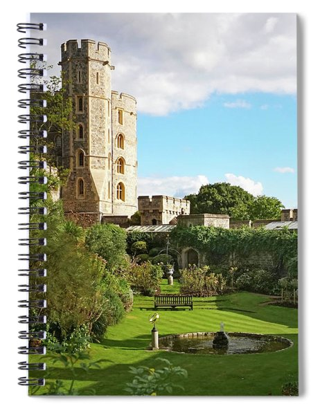 A View Of Windsor Castle Spiral Notebook