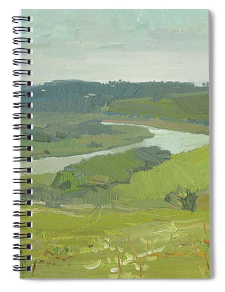 A View On The Kudikina Mount Spiral Notebook