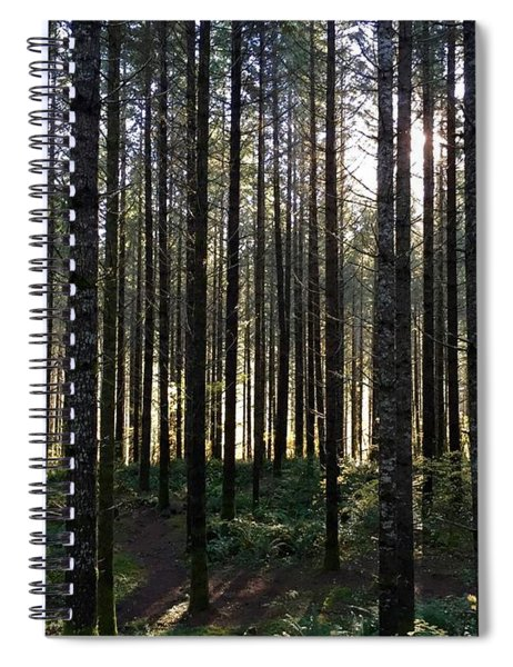 A Walk In The Trees Spiral Notebook