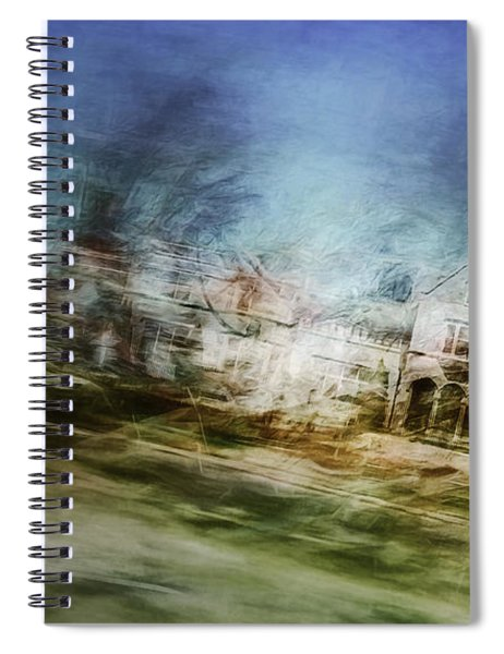 A Walk On The East Side Spiral Notebook