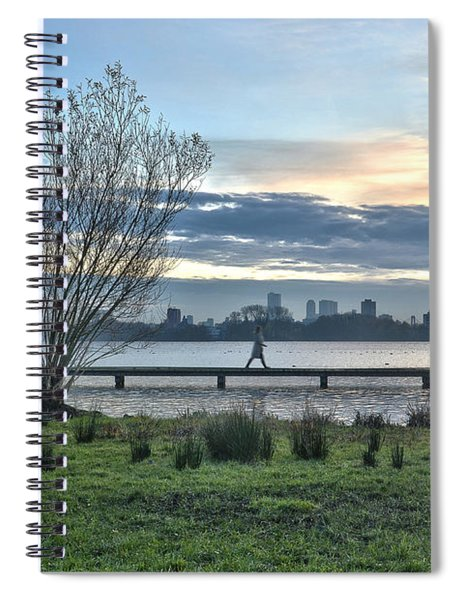 A Walk Through The Lake Spiral Notebook
