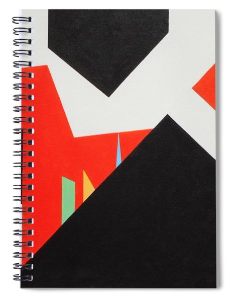 A Walk Through The Village Spiral Notebook