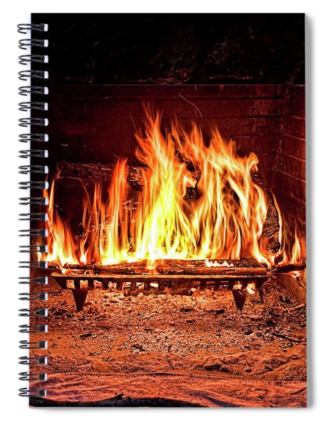 A Warm Hearth Spiral Notebook