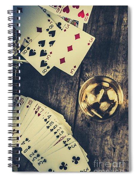 A Whisky Bet Spiral Notebook