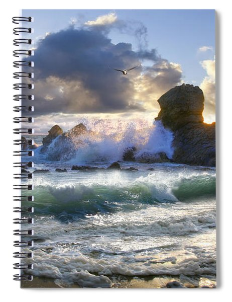 A Whisper In The Wind Spiral Notebook