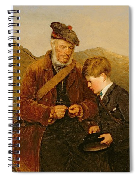 A Willing Pupil Spiral Notebook