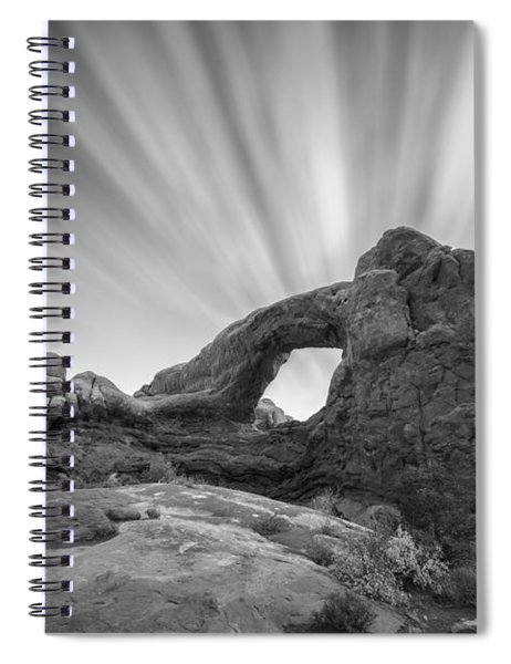 A Window To The Sky Spiral Notebook