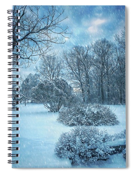 A Winters Tale Spiral Notebook
