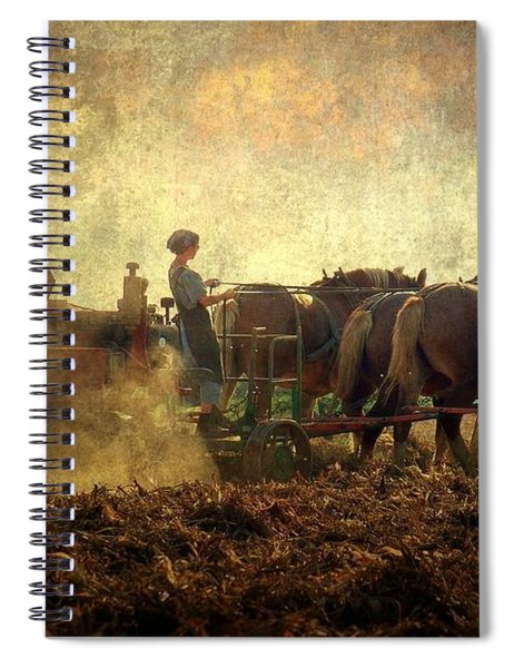 A Woman's Work Is Never Done Spiral Notebook