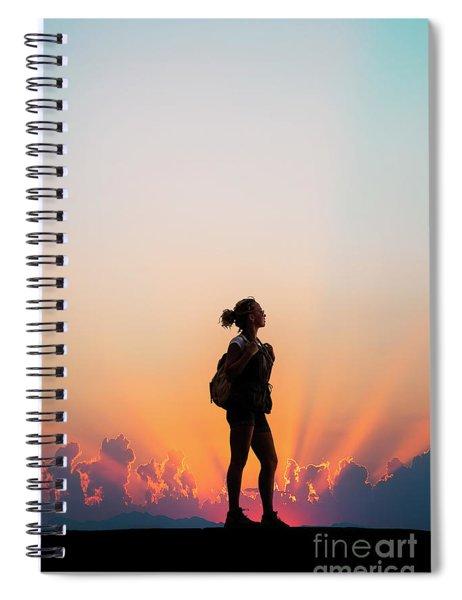 A World Of Adventure Spiral Notebook