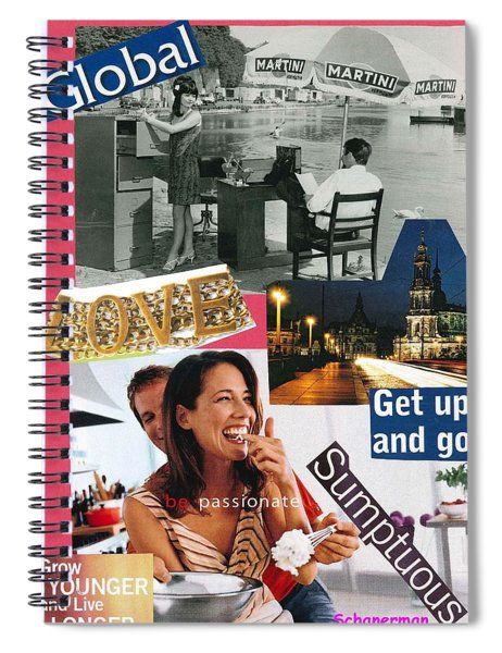 A World Of Love Spiral Notebook