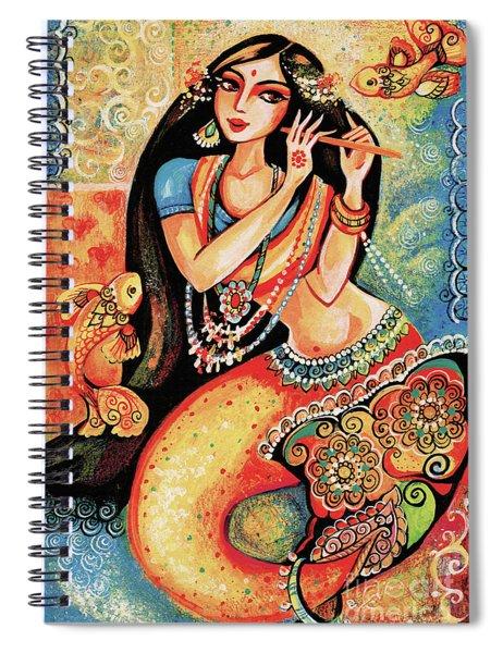 Aanandinii And The Fishes Spiral Notebook