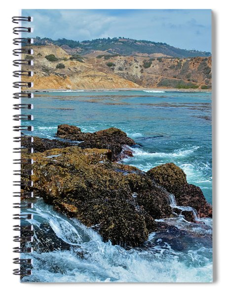 Abalone Cove Shoreline Park Sacred Cove Spiral Notebook