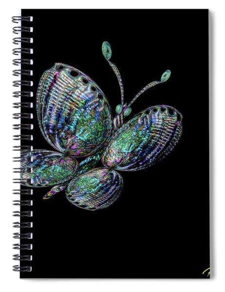 Abalonefly Spiral Notebook