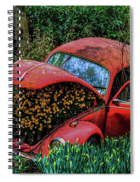 Abandon Spiral Notebook