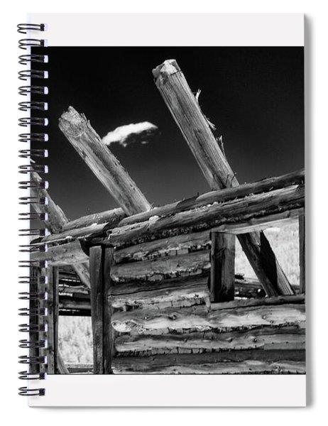 Abandon View Spiral Notebook