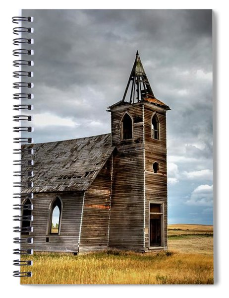 Abandoned Beauty  Spiral Notebook