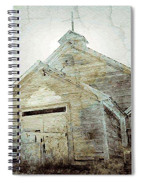 Abandoned Church 1 Spiral Notebook