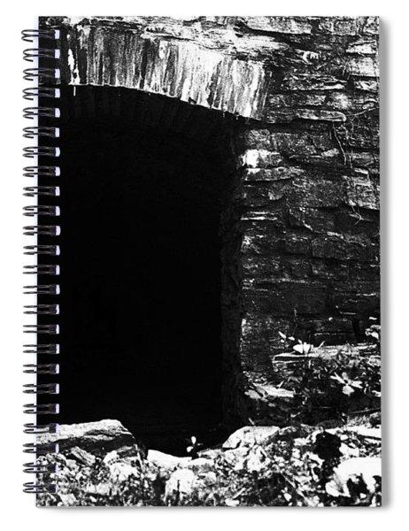 Abandoned Entry Spiral Notebook