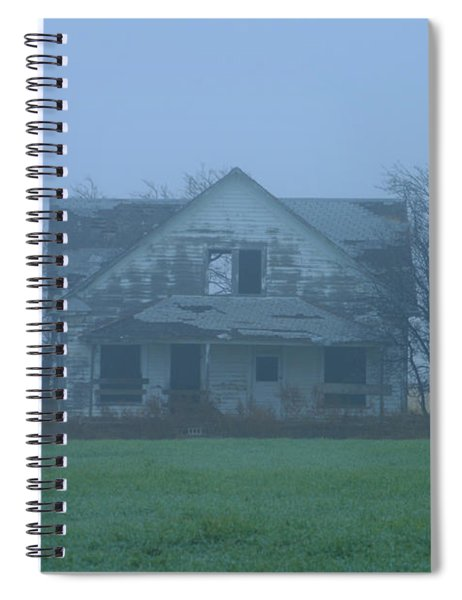 Abandoned In Oklahoma Spiral Notebook