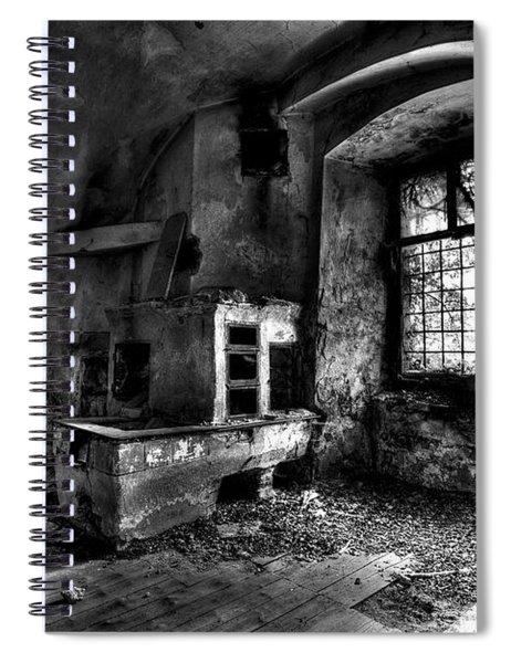 Abandoned Kitchen Spiral Notebook