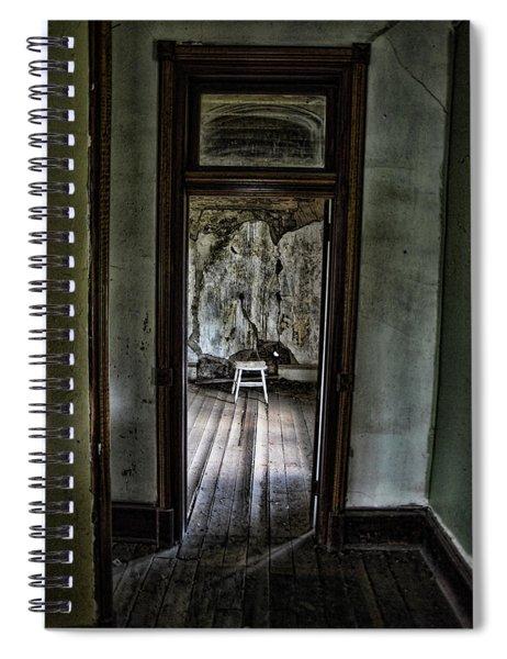 Abandoned Mansion #1 Spiral Notebook