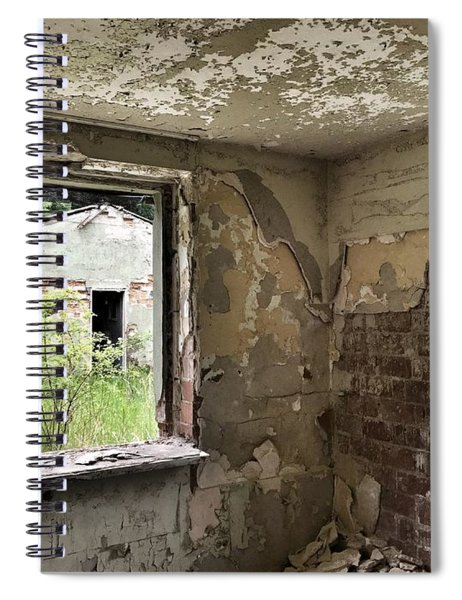 Abandoned Old Ammunition Depot Of The Belgian Army  Spiral Notebook