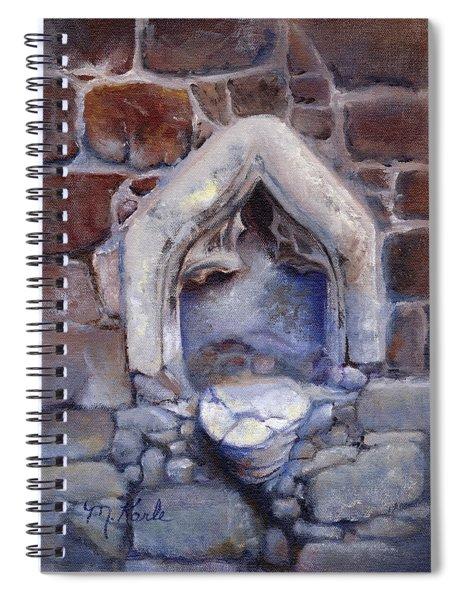 Abandoned Pedestal Spiral Notebook