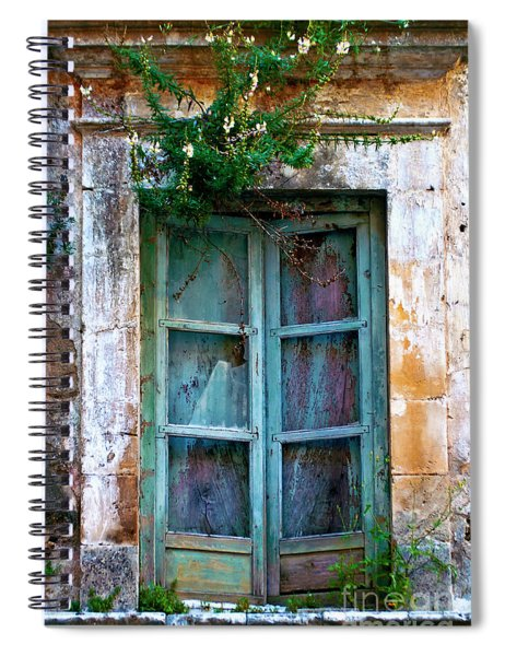 Abandoned Sicilian Sound Of Noto Spiral Notebook