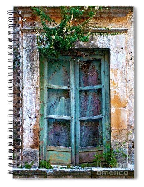 Abandoned Sicilian Sound Of Noto Spiral Notebook