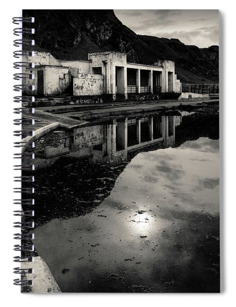 Abandoned Swimming Pool Spiral Notebook
