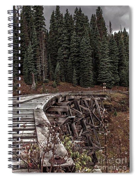 Abandoned Trestle Spiral Notebook
