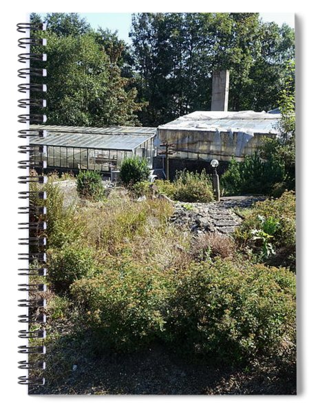 Abanoned Old Horticulture Spiral Notebook