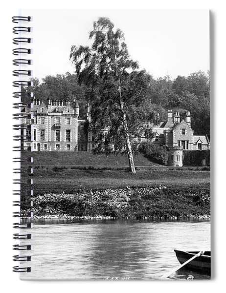 Abbots Ford From Tweed Spiral Notebook