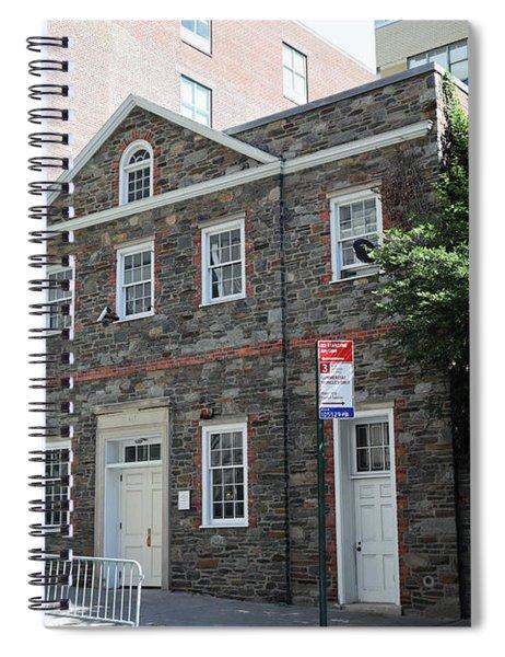 Abigail Adams Smith Auditorium Spiral Notebook