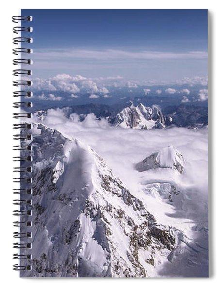 Above Denali Spiral Notebook