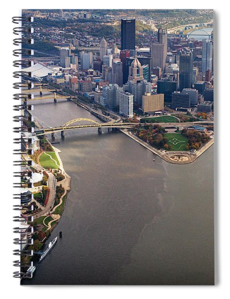 Above Pittsburgh In  Color  Spiral Notebook