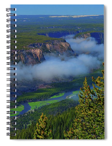 Above The Madison Spiral Notebook by Greg Norrell