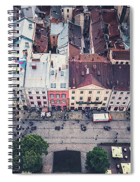 Above The Rooftops Spiral Notebook