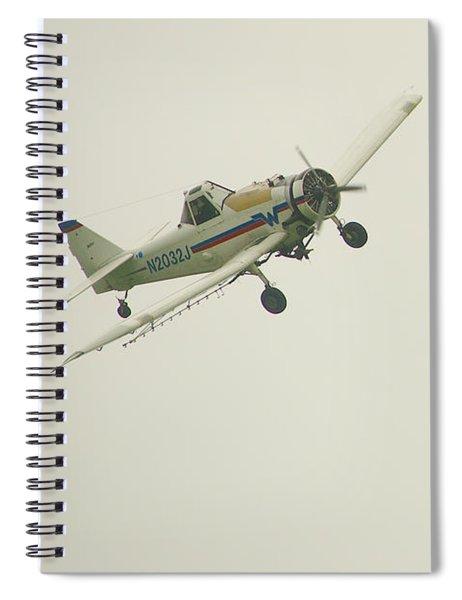 Above Worthington Spiral Notebook