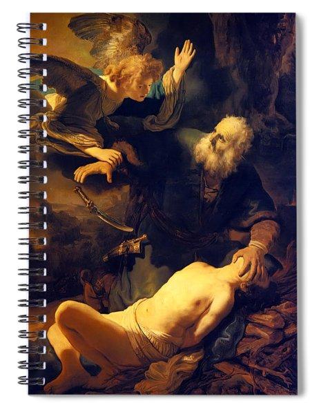 Abraham And Isaac Spiral Notebook