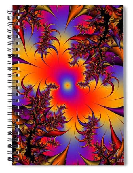 Abstact 17 Spiral Notebook