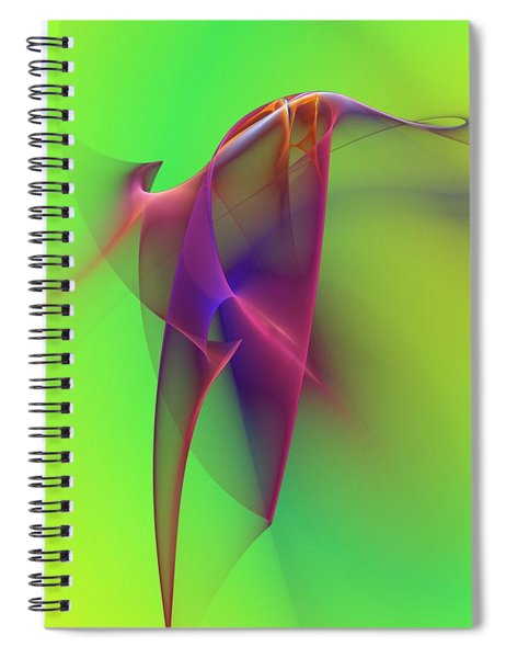 Abstract 091610 Spiral Notebook