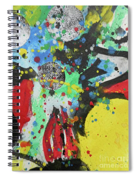 Abstract-1 Spiral Notebook
